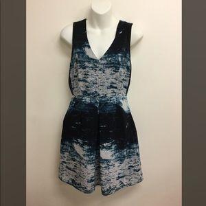 Forever 21 Contemporary Blue sheath dress Small